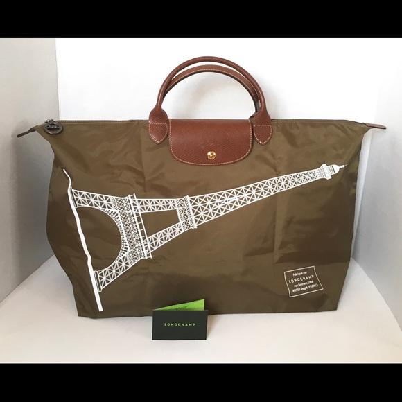 Longchamp Le Pliage Tour Weekender Bag 89c29020caab2